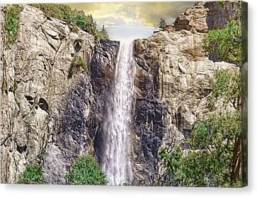 Yosemite Falls Canvas Print by Michael Cleere