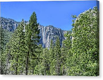 Yosemite Falls2 Canvas Print by Michael Cleere