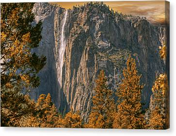 Yosemite In Fall Canvas Print by Michael Cleere