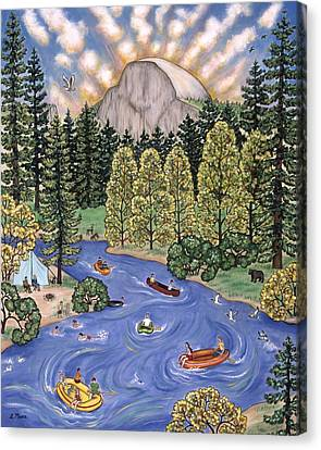 Yosemite National Park Canvas Print by Linda Mears