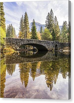 Yosemite Reflections Canvas Print by Alpha Wanderlust