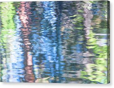 Yosemite Reflections Canvas Print by Larry Marshall