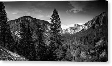 Canvas Print featuring the photograph Yosemite by Ryan Photography