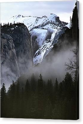 Yosemite Storm Canvas Print