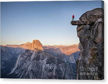 Overhang Canvas Print - Yosemite Sunset by JR Photography
