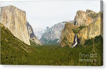Yosemite Valley 7d6063 Canvas Print