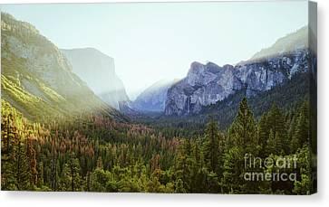 Yosemite Valley Awakening Canvas Print by JR Photography