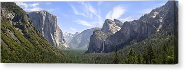 Yosemite Valley Canvas Print by Francesco Emanuele Carucci