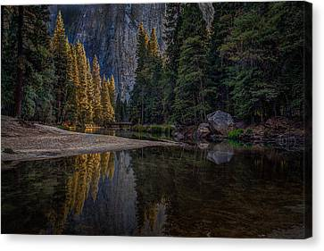 Yosemite Valley Reflections 1 Canvas Print