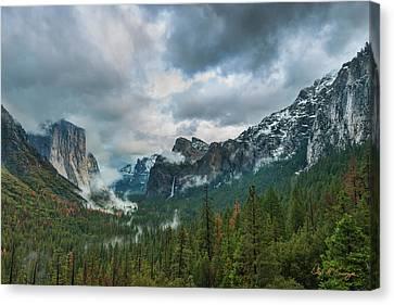 Yosemite Valley Storm Canvas Print