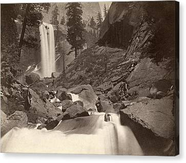 Yosemite: Vernal Fall Canvas Print by Granger
