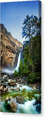 Early Morning Canvas Print - Yosemite Waterfall by Az Jackson