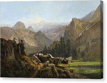 Yosemite Zaku Canvas Print by Andrea Gatti