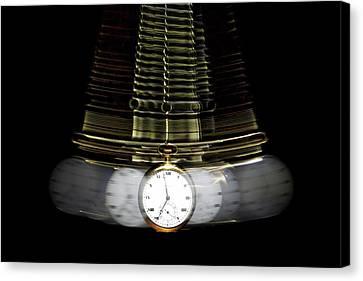 Clockwork Canvas Print - You Are Getting Sleepy.... by Tom Mc Nemar