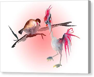 You Are Just My Type Canvas Print by Miki De Goodaboom