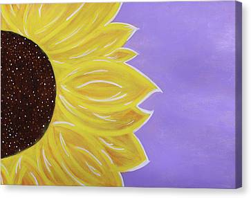You Are My Sunshine Canvas Print by Cyrionna The Cyerial Artist