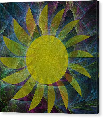 You Are My Sunshine Canvas Print by Kathleen Sartoris