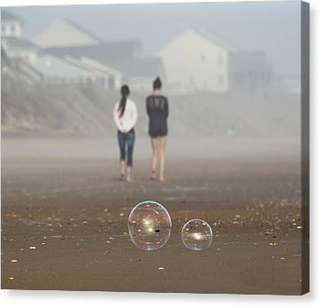 Topsail Island Canvas Print - You Are Not Fat by Betsy Knapp