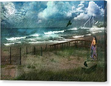 You Are So Far Away Canvas Print by Rhonda Strickland