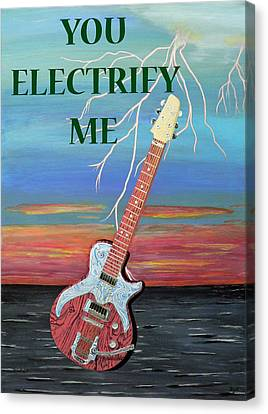 You Electrify Me Canvas Print by Eric Kempson