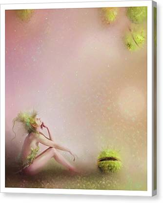 You Have To Be Fairy Patient Canvas Print