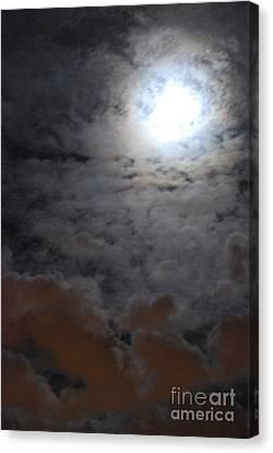 You Just Got Mooned Canvas Print by Joy Bradley