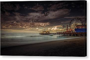 Enchanted Pier Canvas Print