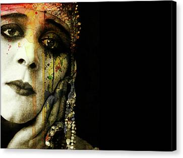 Canvas Print featuring the mixed media You Never Got To Hear Those Violins by Paul Lovering