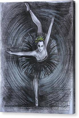 Canvas Print featuring the drawing You Think You Can Dance by Anna  Duyunova