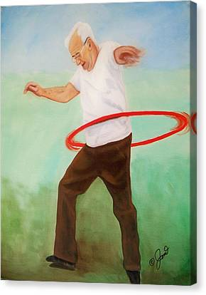 Young At Heart Canvas Print by Joni McPherson