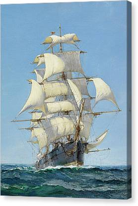 Young Australia - Detail Canvas Print by Montague Dawson