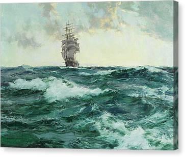 Young Australia Canvas Print by Montague Dawson