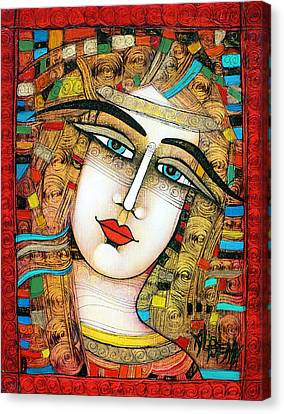 Young Girl Canvas Print by Albena Vatcheva