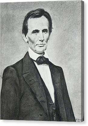 Young Lincoln Canvas Print