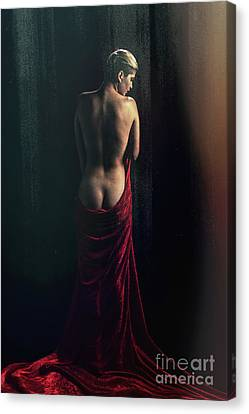 Young Nude Woman 1729.106 Canvas Print