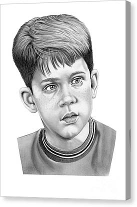 Opie Canvas Print - Young Ron Howard by Murphy Elliott