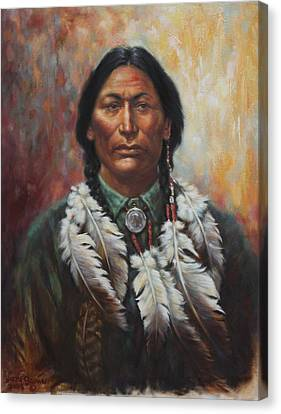 Young Sittingbull Canvas Print
