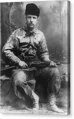 Young Teddy Roosevelt Canvas Print by War Is Hell Store