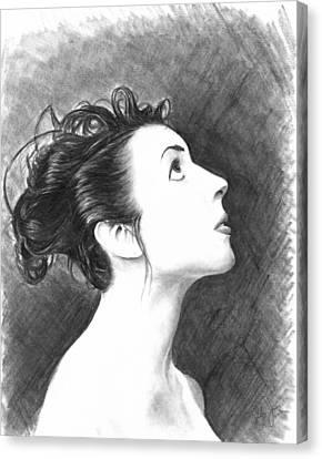 Young Woman Canvas Print by Ryan Jones
