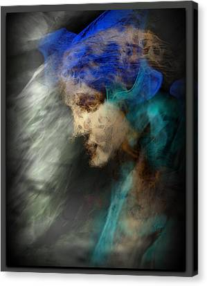 Your Angel Passed Nearby Canvas Print