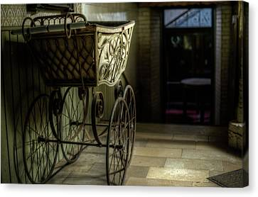 Your Pram Awaits Canvas Print by Nathan Wright