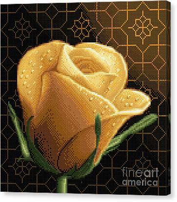 Your Rose Canvas Print by Stoyanka Ivanova