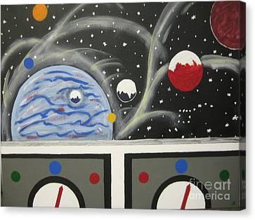 Your The Pilot  Canvas Print by Jeffrey Koss