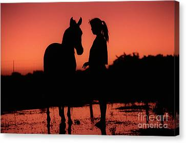Canvas Print featuring the photograph Youth by Jim and Emily Bush