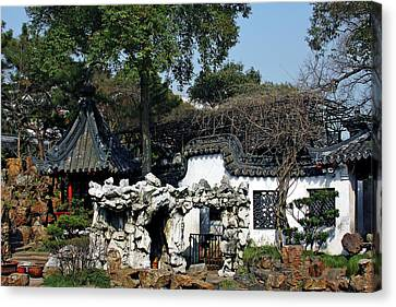 House Canvas Print - Yu Yuan Garden Shanghai by Christine Till