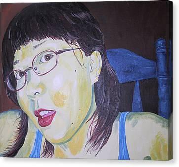Yuka Canvas Print by Kevin Callahan