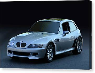 Canvas Print featuring the photograph Z3 M Coupe by Bill Dutting