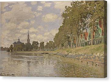 Zaandam Canvas Print by Claude Monet