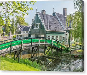 Zaanse Schans Village Canvas Print