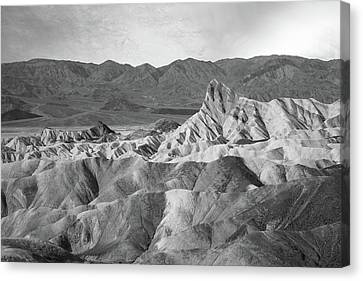 Zabriskie Point Landscape Canvas Print